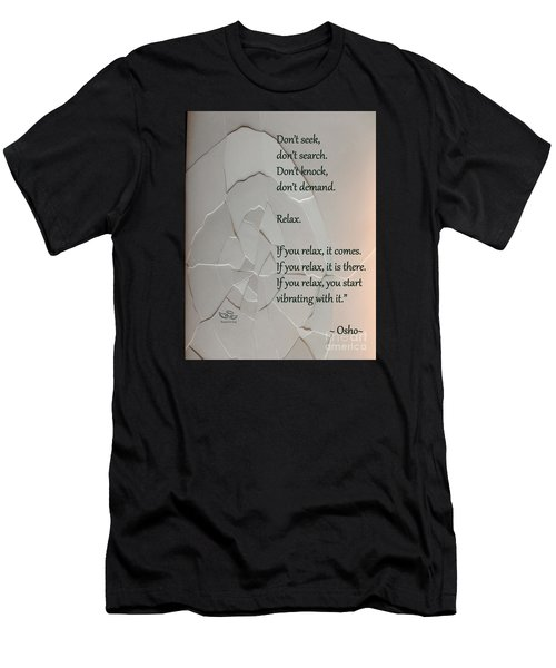 Men's T-Shirt (Athletic Fit) featuring the photograph Don't Seek by Beauty For God