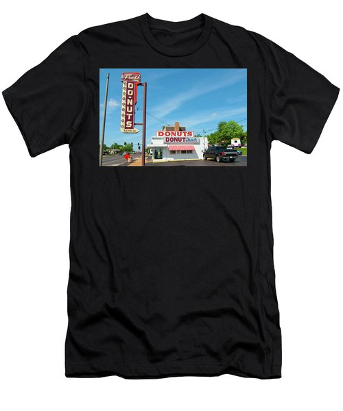 Donut Drive In Men's T-Shirt (Athletic Fit)