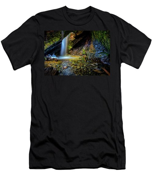 Donut Falls Men's T-Shirt (Athletic Fit)