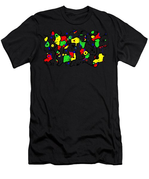 Doodle Abstract Men's T-Shirt (Athletic Fit)