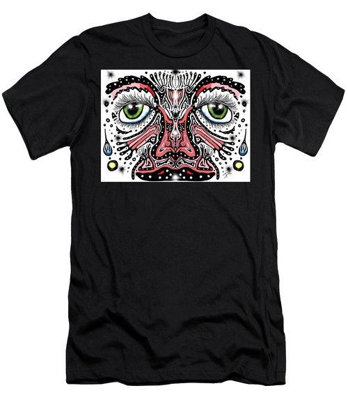 Doodle Face Men's T-Shirt (Athletic Fit)