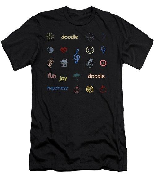 Doodle Men's T-Shirt (Athletic Fit)