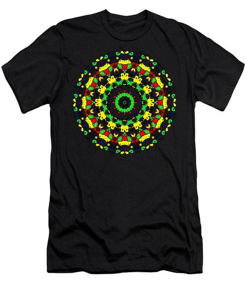 Doodle Mandala 2 Men's T-Shirt (Athletic Fit)