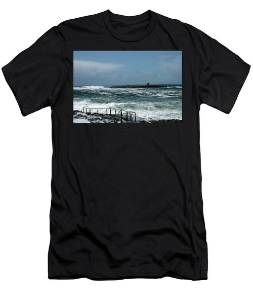 Doolin Waves Men's T-Shirt (Athletic Fit)