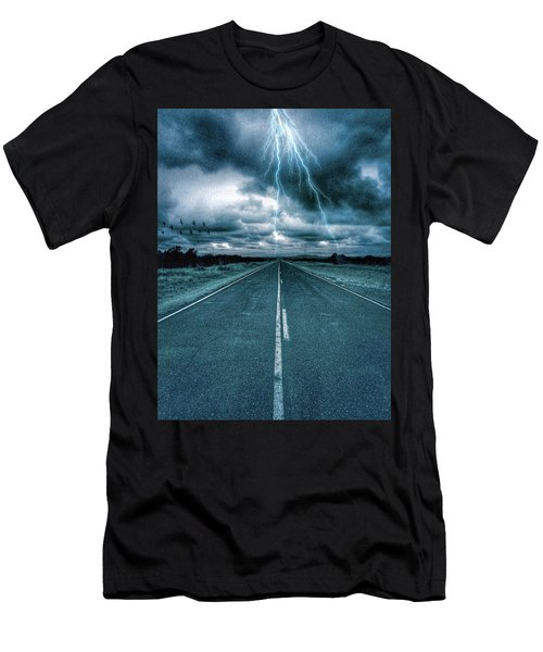 Doomsday Road Men's T-Shirt (Athletic Fit)