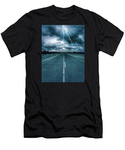 Doomsday Road Men's T-Shirt (Athletic Fit)