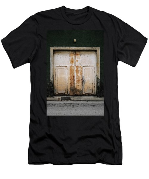 Men's T-Shirt (Slim Fit) featuring the photograph Door No 163 by Marco Oliveira