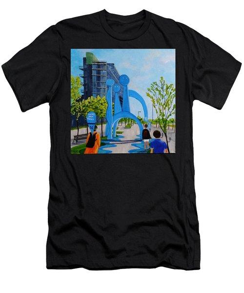 Doors Open Toronto, Doors Open Canada Men's T-Shirt (Slim Fit) by Diane Arlitt