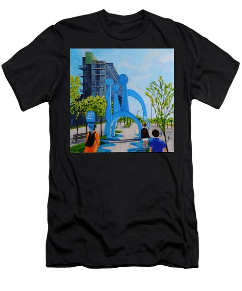 Toronto Canary District - Doors Open Toronto Men's T-Shirt (Athletic Fit)