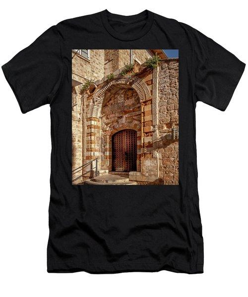 Doorway In Akko Men's T-Shirt (Athletic Fit)