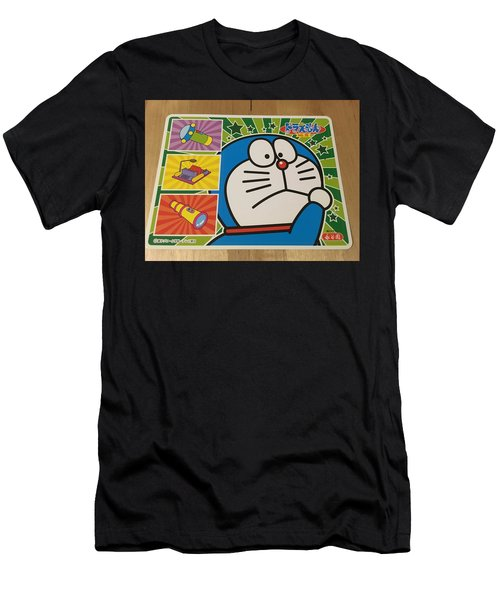 Doraemon Gadget Cat From The Future Men's T-Shirt (Athletic Fit)