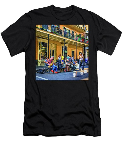 Doreen's Jazz New Orleans 2 - Paint Men's T-Shirt (Athletic Fit)