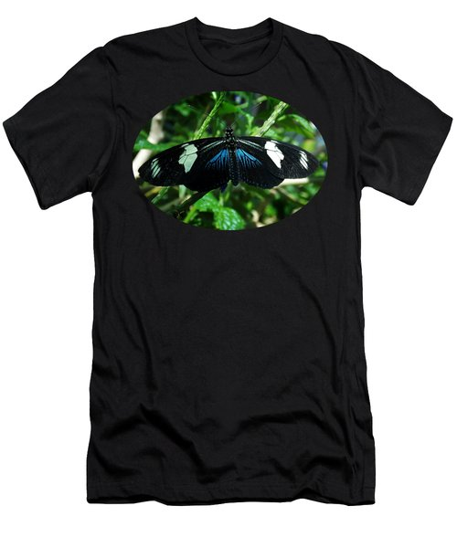 Doris Longwing Men's T-Shirt (Athletic Fit)