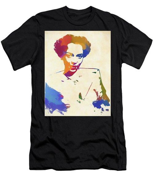 Dorothy Dandridge Watercolor Men's T-Shirt (Athletic Fit)