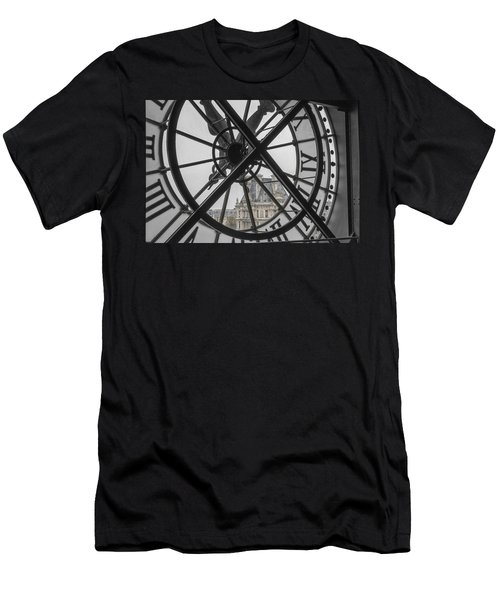 D'orsay Clock Paris Men's T-Shirt (Athletic Fit)