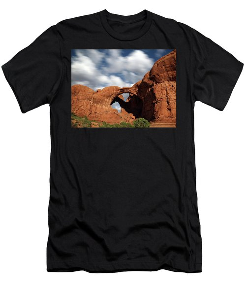 Double Arch In The Moonlight Men's T-Shirt (Athletic Fit)