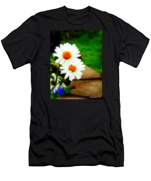 Double Daisy Men's T-Shirt (Athletic Fit)