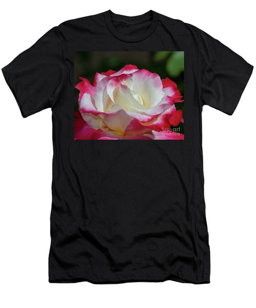 Double Delight Rose 1 Men's T-Shirt (Athletic Fit)
