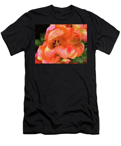 Double Dutch Tulips Men's T-Shirt (Athletic Fit)