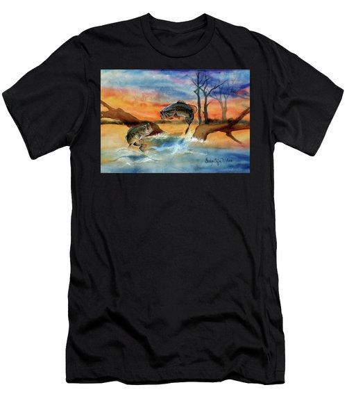 Double Jump Detail Men's T-Shirt (Athletic Fit)