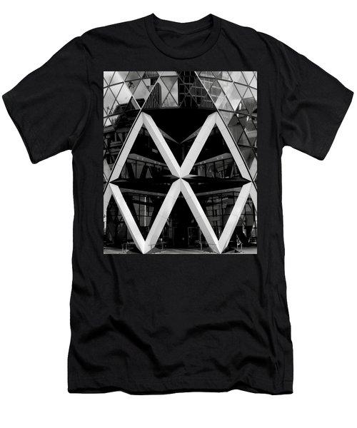 Double Rhombus Men's T-Shirt (Athletic Fit)