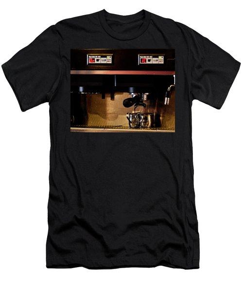 Double Shot Of Espresso Men's T-Shirt (Athletic Fit)