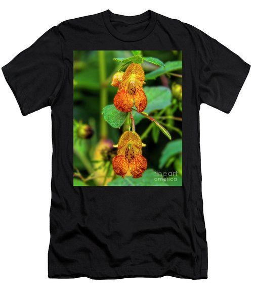 Double Shot Of Jewelweed Men's T-Shirt (Slim Fit) by Barbara Bowen