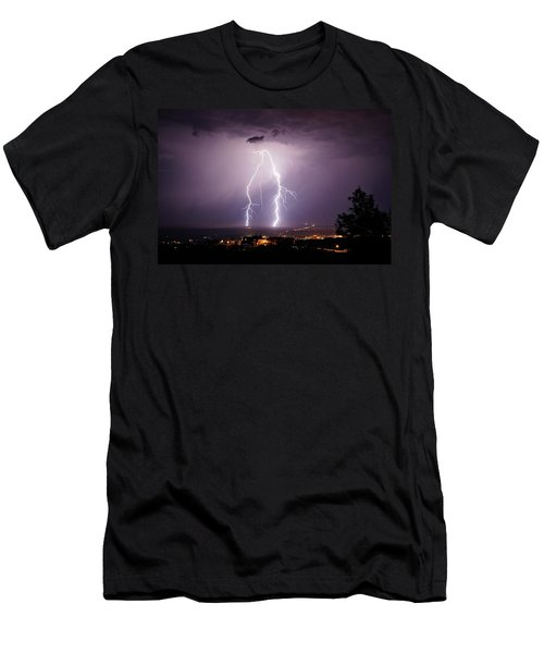 Men's T-Shirt (Slim Fit) featuring the photograph Double Trouble by Ron Chilston