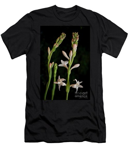 Double Tuberose In Bloom #2 Men's T-Shirt (Athletic Fit)