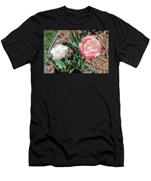 Double Tulip Men's T-Shirt (Athletic Fit)