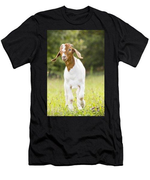 Dougie The Goat Men's T-Shirt (Athletic Fit)
