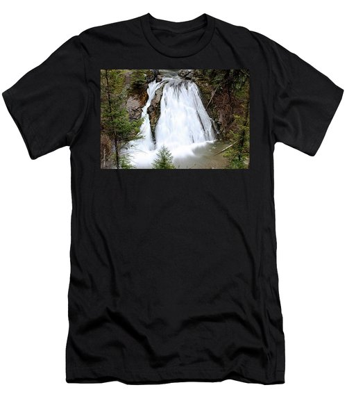 Douglas Falls  Men's T-Shirt (Athletic Fit)