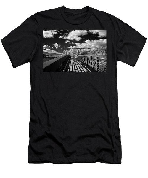 Dover Slough Bridge 1 Men's T-Shirt (Athletic Fit)