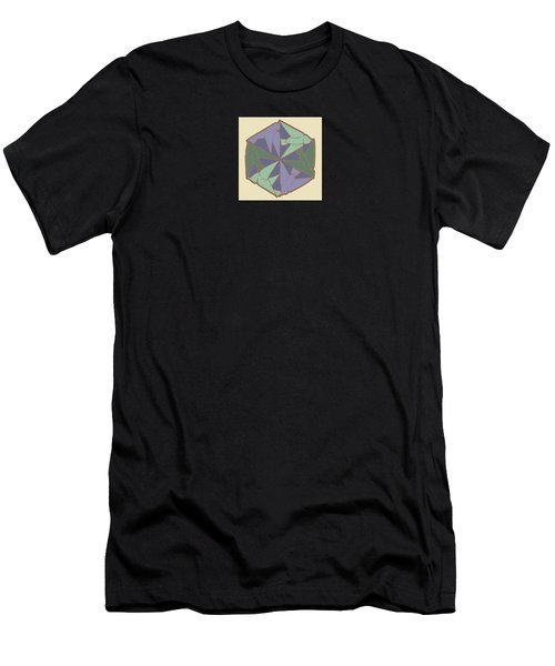 Doves Logo Color Men's T-Shirt (Athletic Fit)
