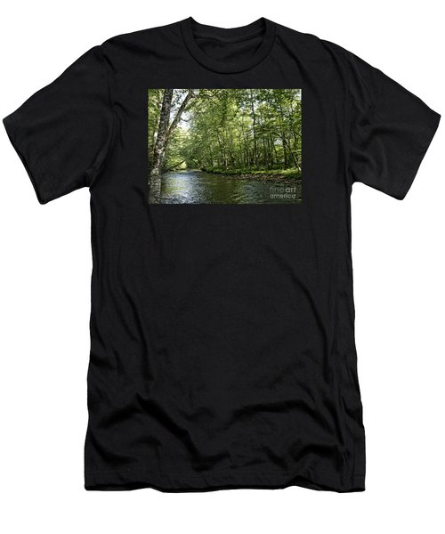 Down Beside Where The Waters Flow Men's T-Shirt (Athletic Fit)