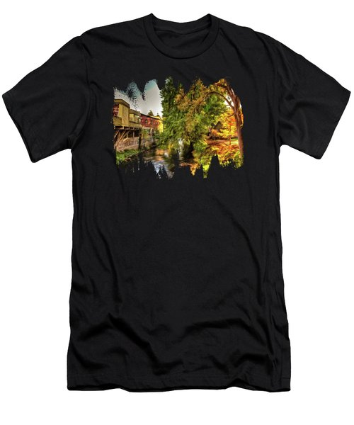 Down By The Creek Men's T-Shirt (Athletic Fit)