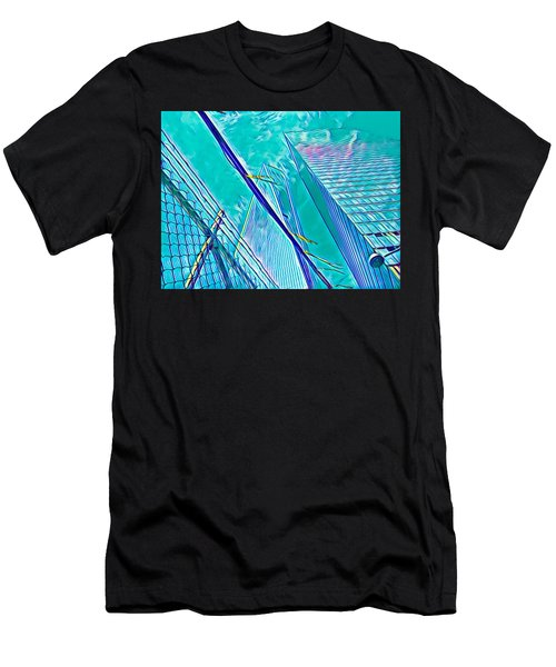 Down By The Water Men's T-Shirt (Athletic Fit)