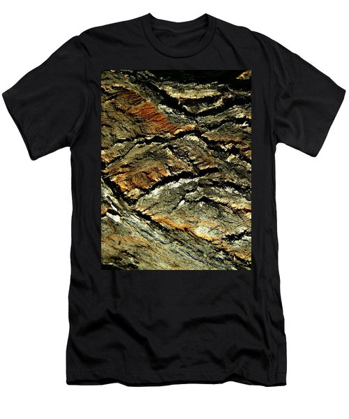 Men's T-Shirt (Slim Fit) featuring the photograph Down In The Valley by Lenore Senior