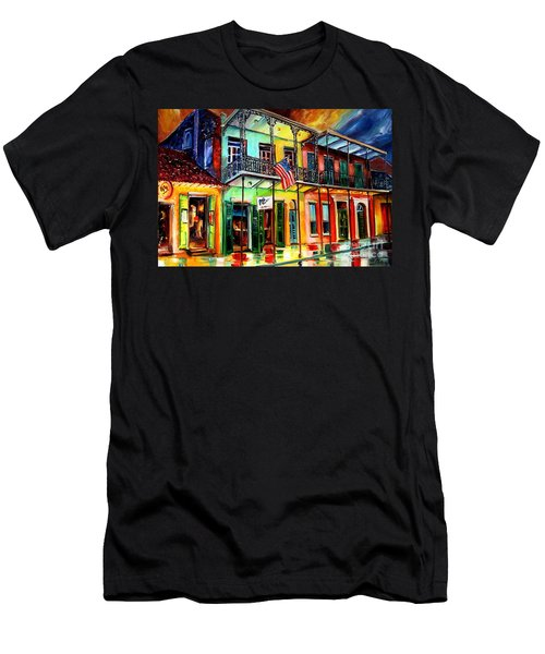 Down On Bourbon Street Men's T-Shirt (Athletic Fit)