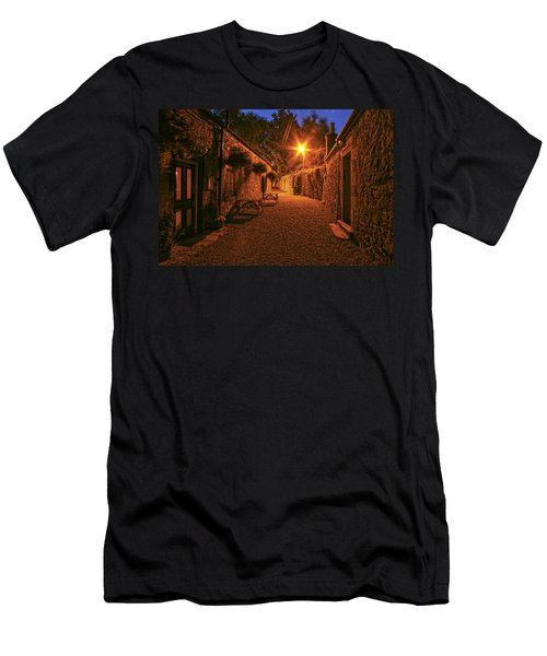 Down The Alley Men's T-Shirt (Athletic Fit)