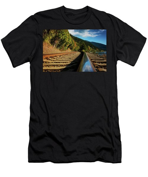 Down The Chukanut Line Men's T-Shirt (Athletic Fit)