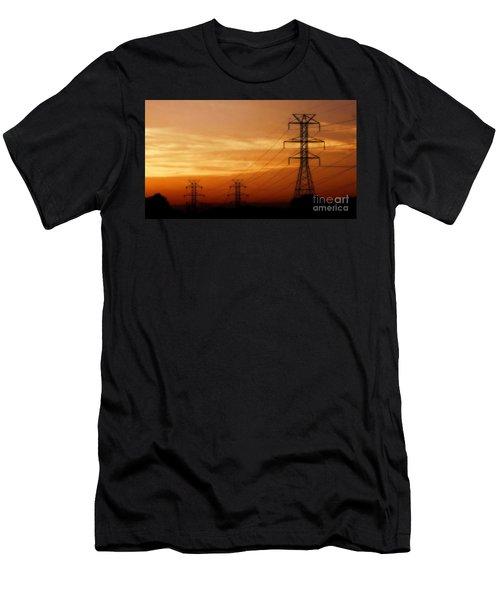 Down The Line Men's T-Shirt (Athletic Fit)