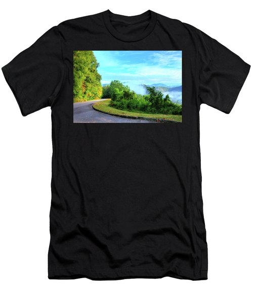 Down The Mountain Men's T-Shirt (Athletic Fit)