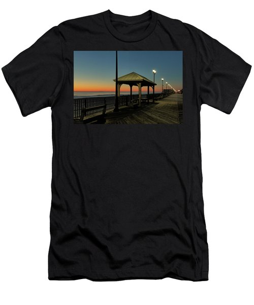 Down The Shore At Dawn Men's T-Shirt (Athletic Fit)