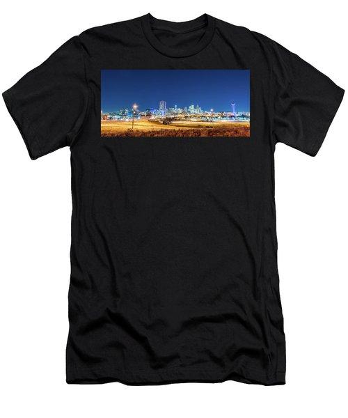 Downtown Denver Under The Stars Men's T-Shirt (Athletic Fit)