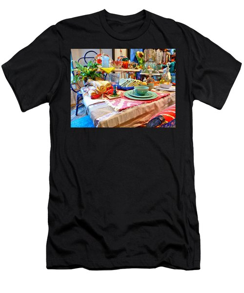 Downtown Greenville Men's T-Shirt (Athletic Fit)