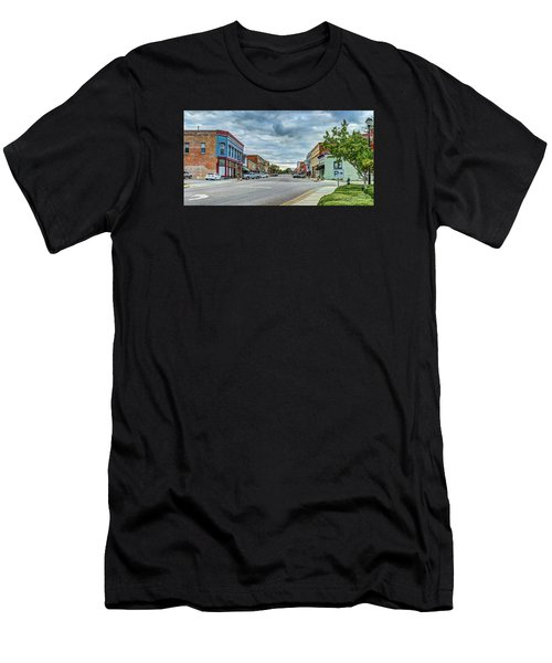 Downtown Hamlet Men's T-Shirt (Athletic Fit)