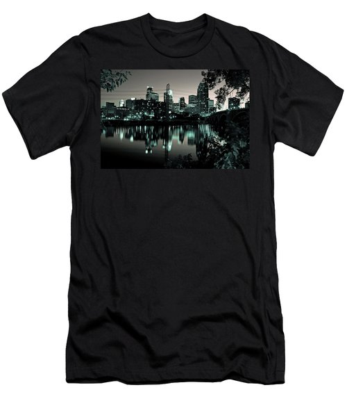 Downtown Minneapolis At Night II Men's T-Shirt (Athletic Fit)