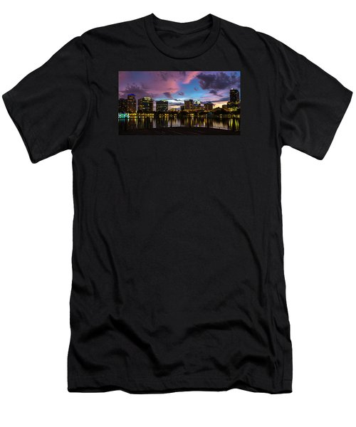 Downtown Orlando Men's T-Shirt (Athletic Fit)