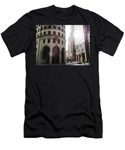 Downtown Providence Men's T-Shirt (Athletic Fit)